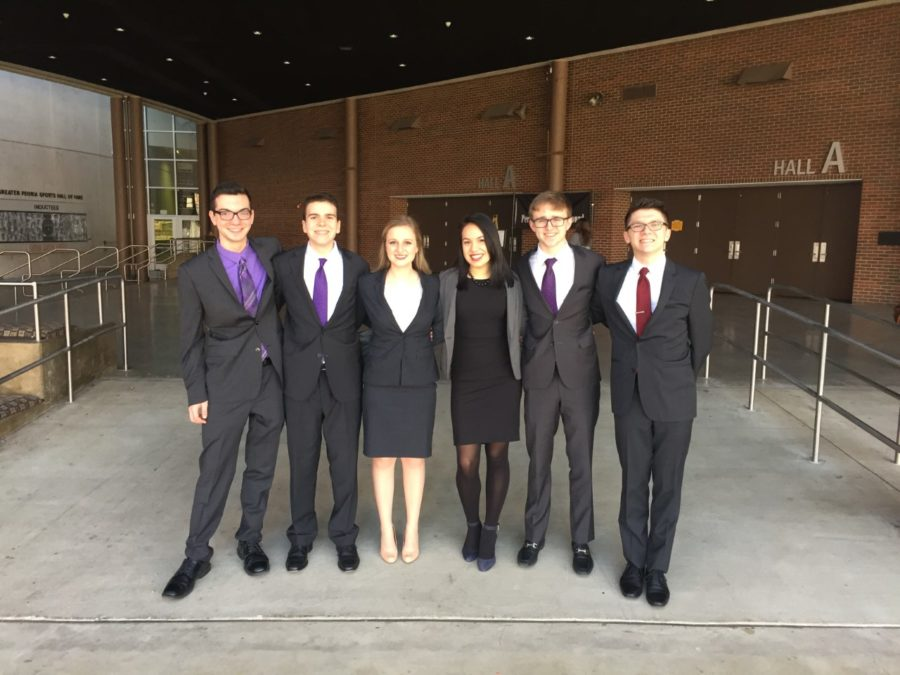 Speech Team finishes 10th in state