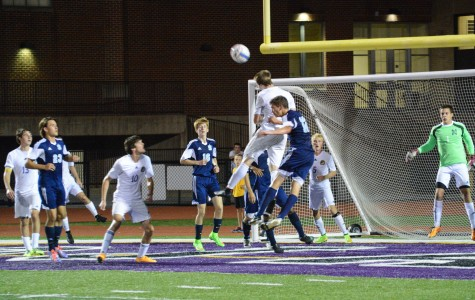 Soccer rallies to tie game after lightning delay