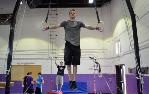 Boys' gymnastics focused on progress