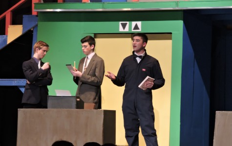 """How to Succeed in Business"" soars to success as school musical"