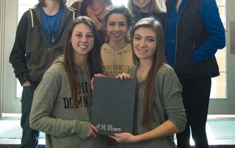 Cauldron staff wins 3rd at 2016 IJEA Yearbook Contest