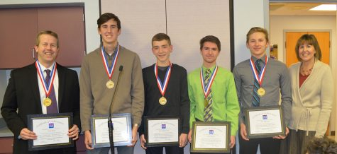 Students win stock market competition