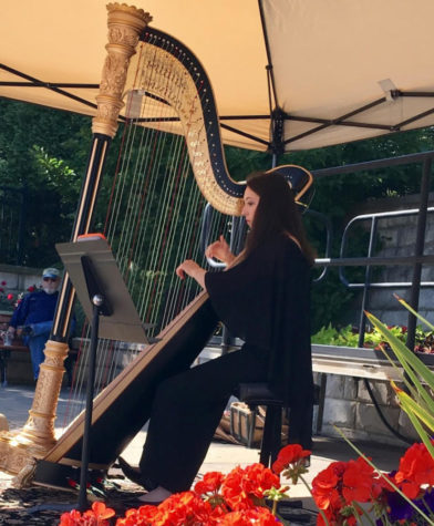 Harpist to compete in international event