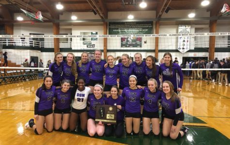 Girls' volleyball bonds over success