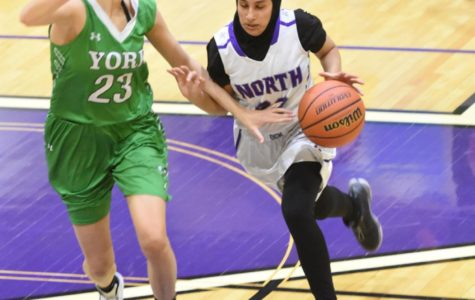 Hijab doesn't hold athlete back