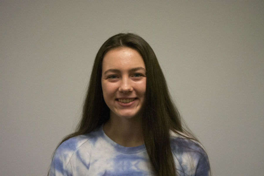 Athlete of the month: Gwendolyn Wolkow(9) Volleyball