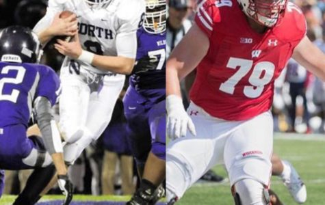 GOING PRO: Former DGN football player David Edwards is drafted to the Los Angeles Rams in the 2019 NFL Draft, after playing three seasons for the Wisconsin Badgers.