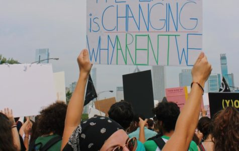 'History has its eyes on us:' DGN students protest at the  Global Climate Strikes to demand climate change reform