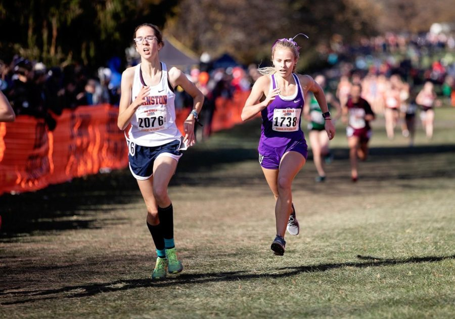Jachim sets school record for girls' cross country