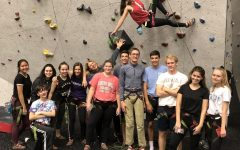 Student interest in nontraditional sports increases: Rock climbing and Water polo