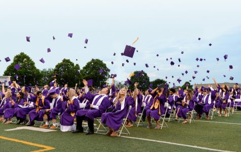 Bleacher construction delay moves graduation inside