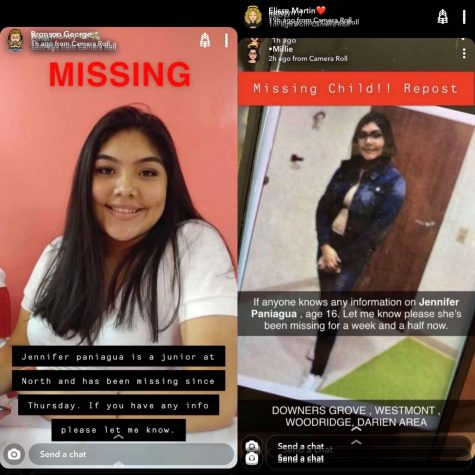 MISSING STUDENT: several different pictures of Paniagua have been posted and reposted by DGN students and alum throughout the last few days.