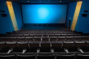 PRIVATE SCREENING: Cinemark Theatres offers movie watching in isolation.