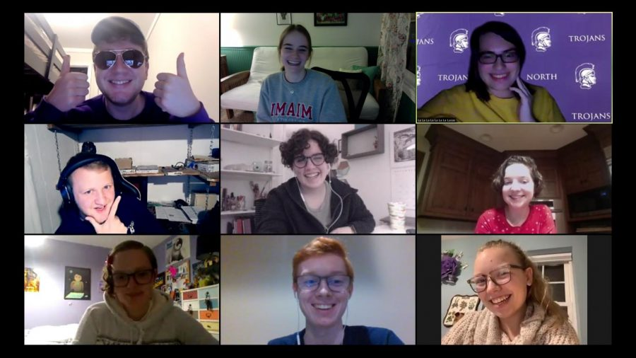 VIRTUAL CELEBRATION: DGN Speech Team holds a holiday party over Zoom