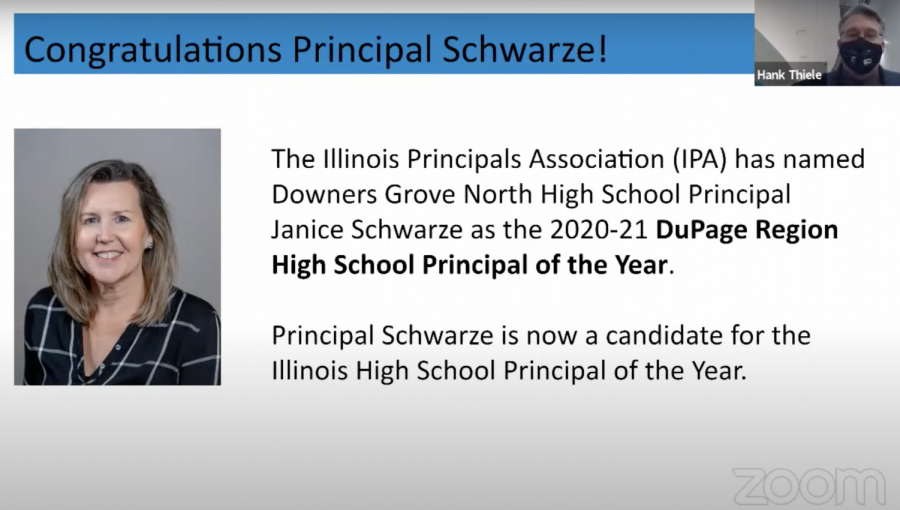 Mrs.+Schwarze+was+recognized+for+her+achievement+at+the+Dec+14+school+board+meeting