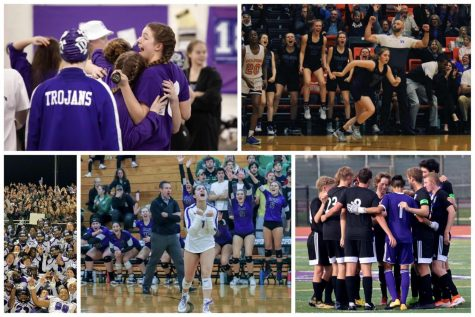 BETTER TOGETHER: High school sports resumed following a Jan. 27 IHSA Board of Directors Meeting. DGN athletics unite the Downers Grove community from the the pool to the soccer field, and everywhere in between.