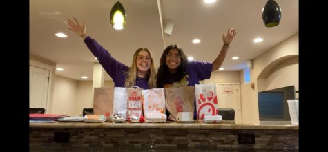 THE SEARCH: Olivia Shirk and Vanessa Lopez are on the hunt for the supreme chicken sandwich in the land.