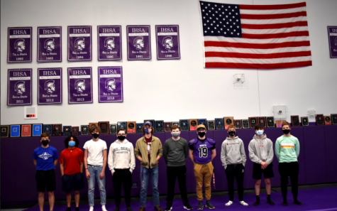 LEGACY CONTINUES: Boys' Gymnastics hopes to add to their banner collection with a 2021 state appearance.