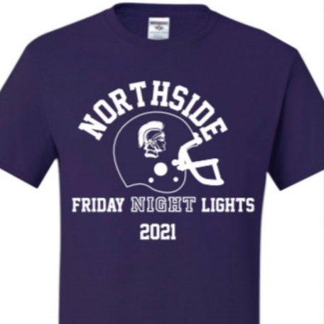 """The cheerleading and football teams are selling """"Friday Night Lights"""" shirts through Aug. 11."""