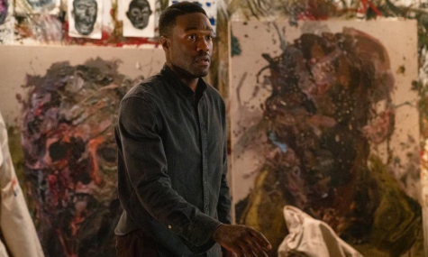 TWISTED TRANSCENDENCE: Anthony McCoy (Yahya Abdul-Mateen II) undergoes a grisly transformation as he becomes increasingly obsessed with the murderous Candyman's tale.